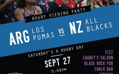 Rugby Bar Viewing Parties Announced