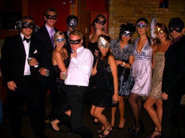 Masquerade Ball Party